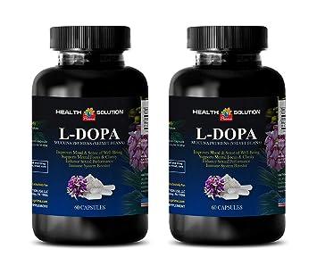 Organic dopamine supplements - L-DOPA 350 MG MUCUNA PRURIENS EXTRACT 99% - libido
