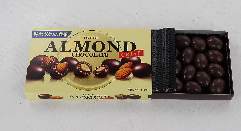 Lotte chocolate con almendras crujiente: cajas 89gX10: Amazon.es: Alimentación y bebidas