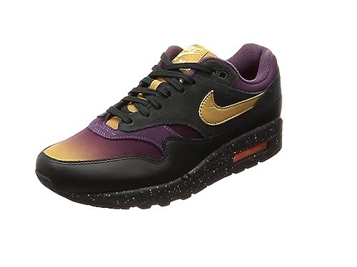 premium selection c8c38 09e10 Nike Air Max 1 Premium, Chaussures de Gymnastique Homme, Gris  (Anthracite Elemental