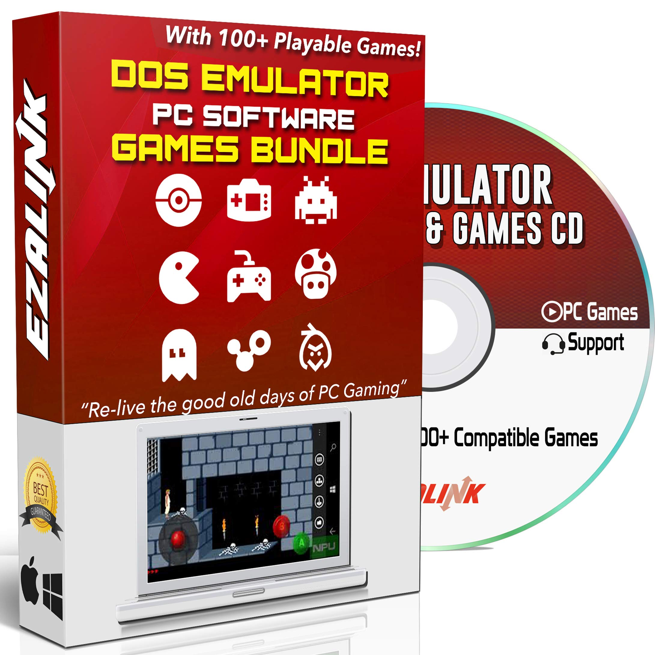 dos game emulator windows 10