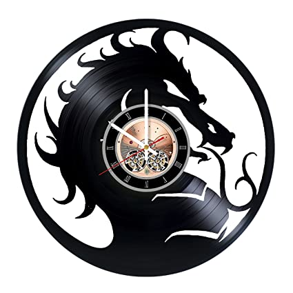 Amazon.com: Mortal Kombat Vinyl Record Wall Clock - Play Room wall ...