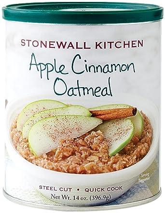 Stonewall Kitchen Manzana canela harina de avena, 14 onzas Colores surtidos