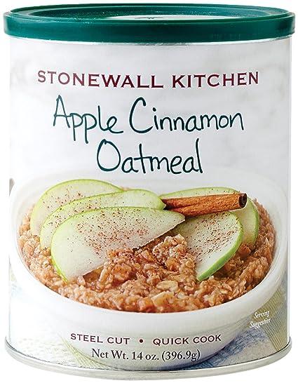 Stonewall Kitchen Manzana canela harina de avena, 14 onzas ...