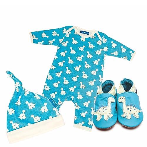 2cdb83905 Inch Blue Girls Boys Leather Baby Shoe