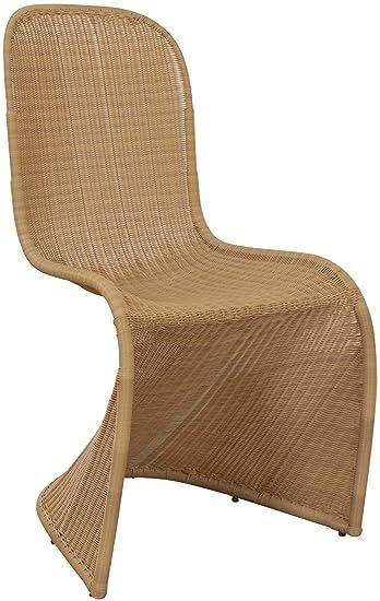 Aus Stuhl Sahara Esszimmerstuhl Schwinger Pe Korb Rattan Stühle Freischwinger Schwingstuhl Esszimmer VpUSzM
