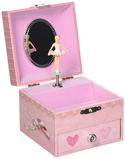 Amazoncom Square Ballerina Musical Jewelry Box Plays Song Fur