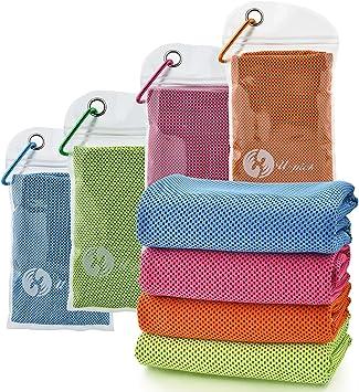 Amazon.com: U-pick, toallas de enfriamiento (40 pulgadas x ...