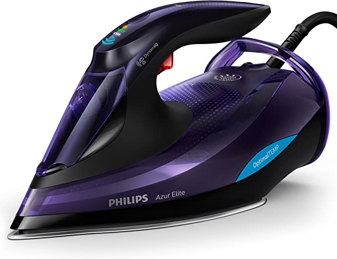 Philips GC5039/30 Azur Elite Steam Iron, Plastic, 3000 W, Black