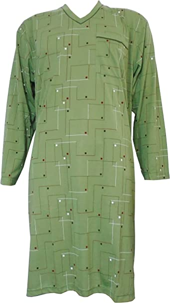 i-Smalls - Camisón de algodón suave con diseño de diamantes, para ...