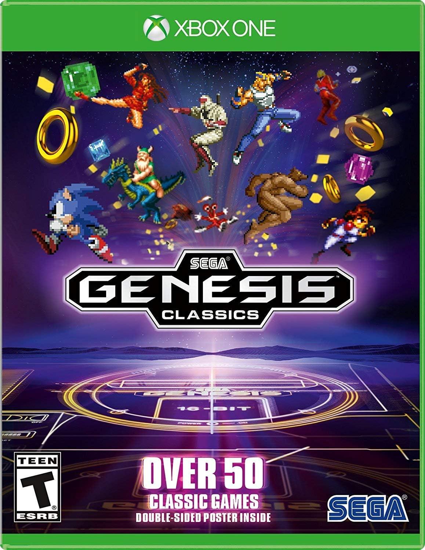 Amazon.com: SEGA Genesis Classics - Xbox One: Sega of ...