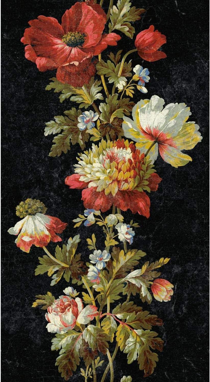 Amazon Com Roommates Rmk11425rl Vintage Floral Stripe Peel And