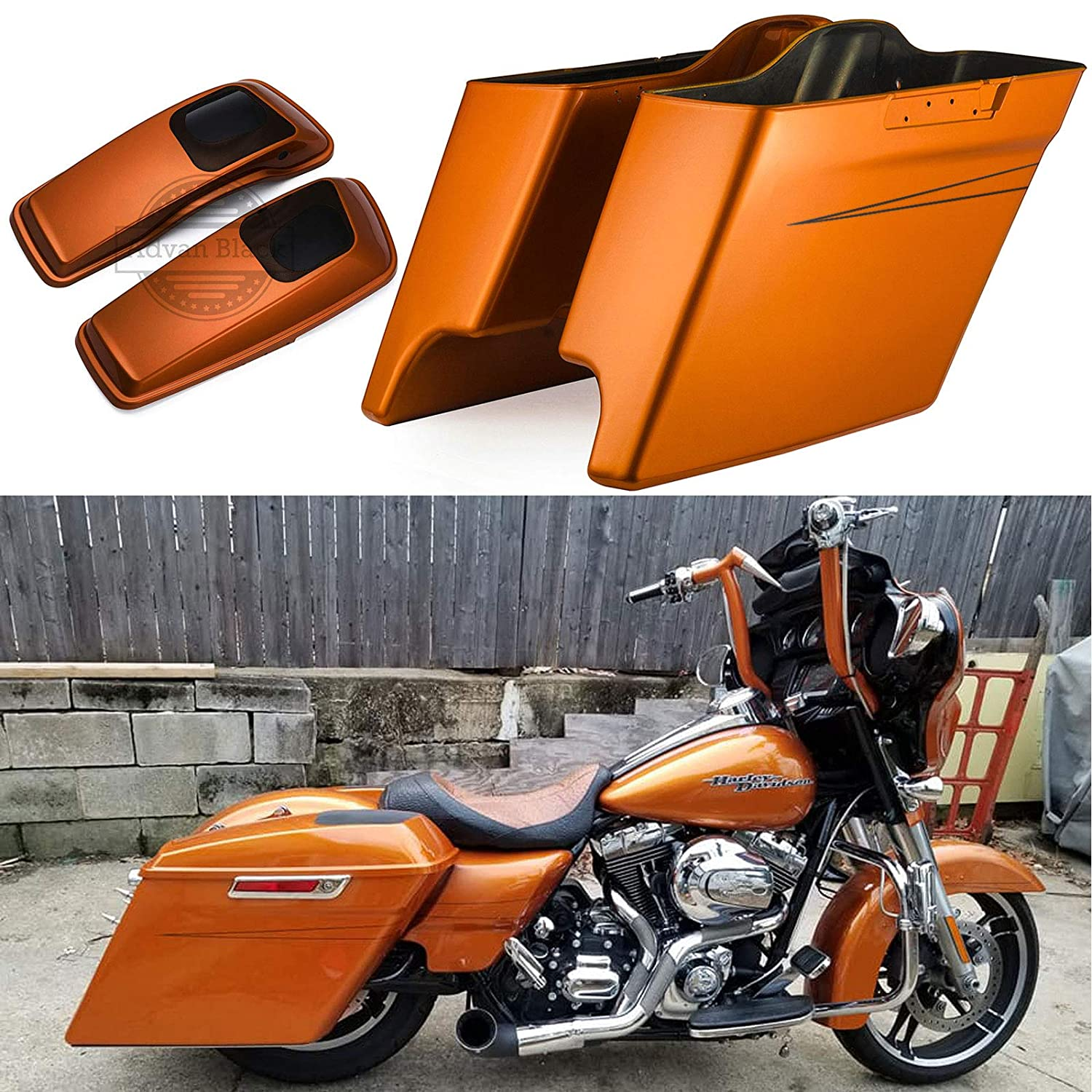 Rubber Grommet Support Cushion Saddle Bag For Harley 14-17 Touring Road King Electra Glide Flt Flht Flhtcu Flhrc Home