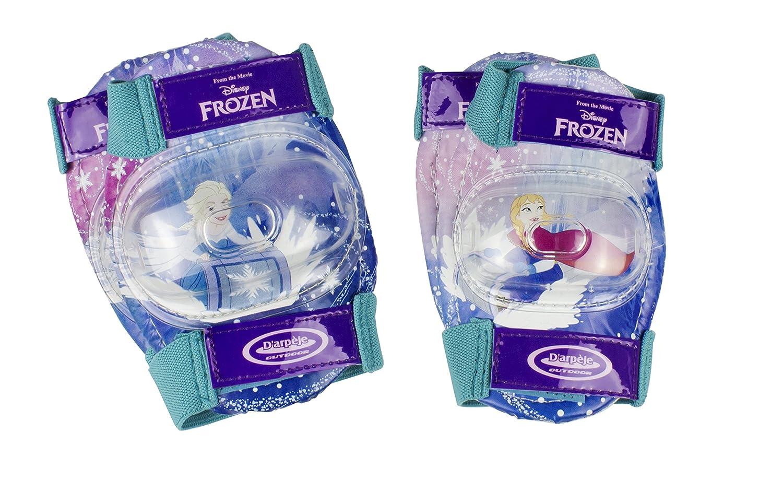 Reine des Neiges // Frozen Frozen Rollers Set 2 Protections OFRO019 Boite avec Patins