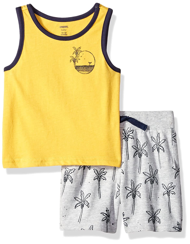8c4b97b6b Amazon.com  Gymboree Boys  Toddler 2-Piece Sleeveless Play Set  Clothing