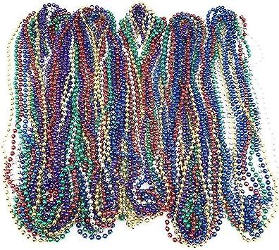 70s Collana di perline gioielli per Discoteca Costume Accessorio