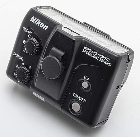 Nikon Sb R 200 Blitzkopf Kamera