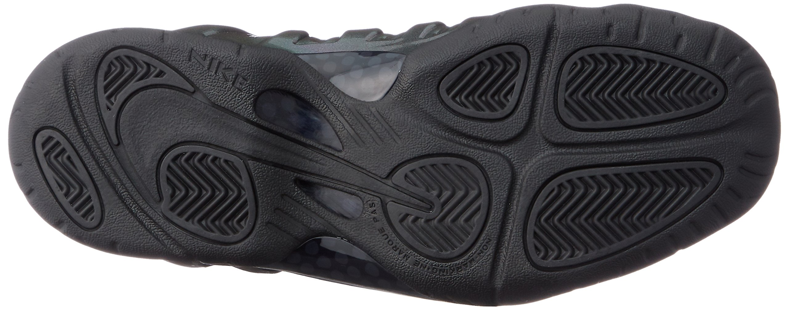 Nike Little Posite One (GS) 644791-301 Legion Green/Black Kids Shoes (6Y) by Nike (Image #3)