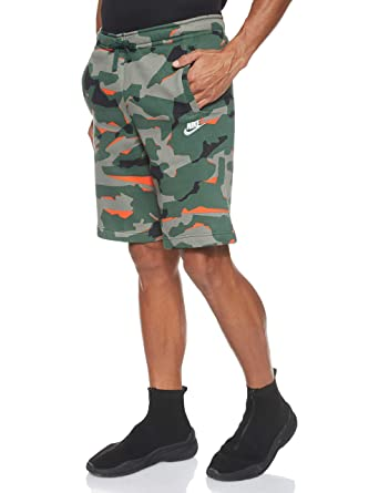 Nike M NSW Club Camo BB, Pantaloncini Sportivi Uomo