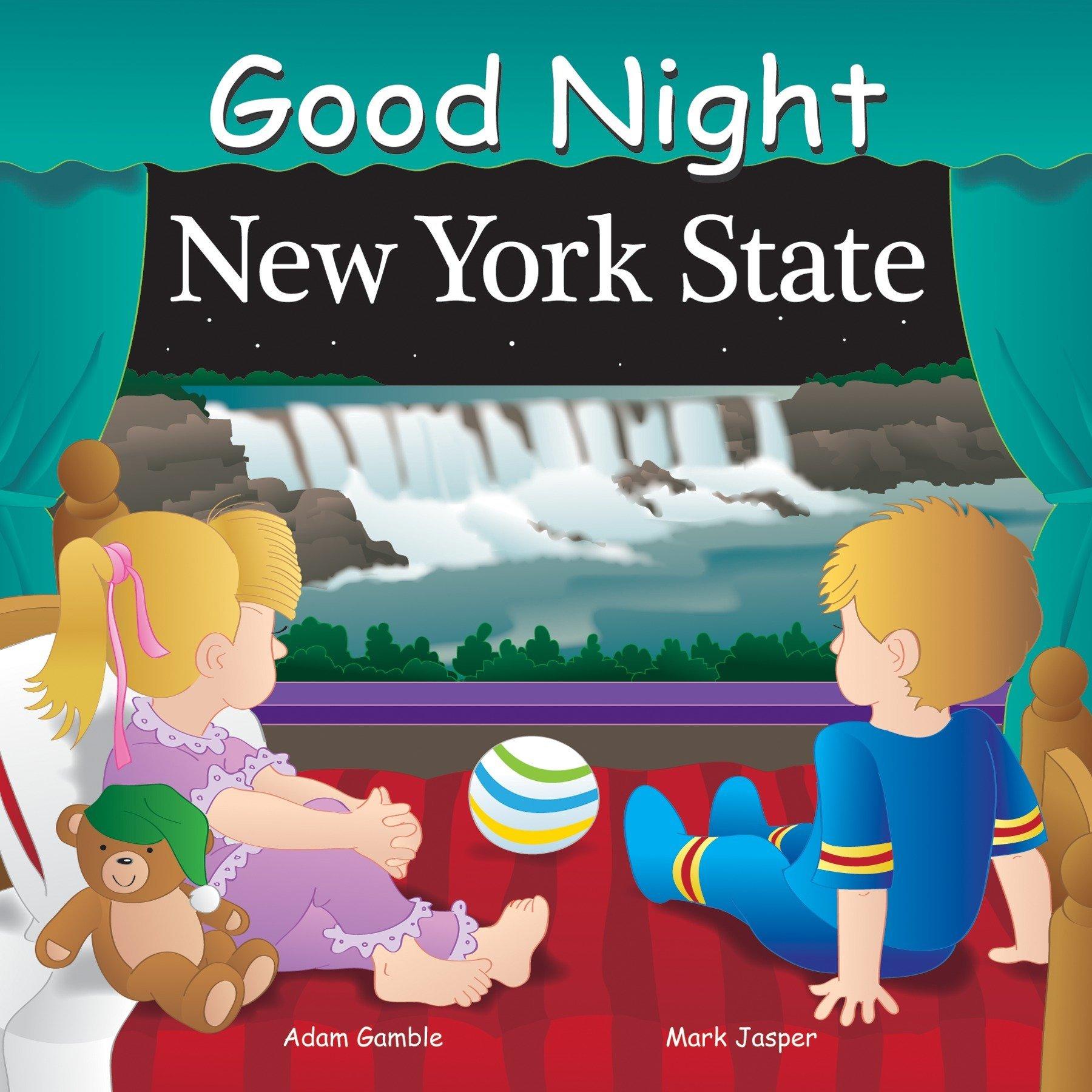 Good Night New York State (Good Night Our World): Adam