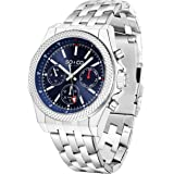 SO&CO New York 5003.3 Mens Stainless Steel Sports Watch, Quartz Movement with Analog Display and