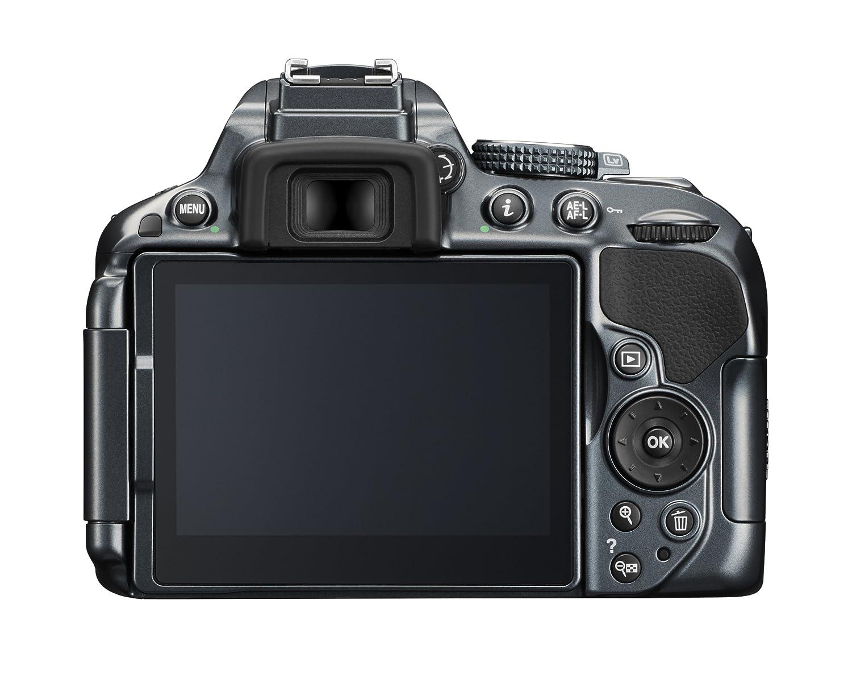 Nikon D5300 - Cámara réflex digital de 24.2 Mp (pantalla táctil ...