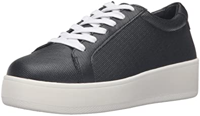 STEVEN by Steve Madden Women's Haris Fashion Sneaker, Black, ...