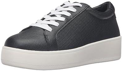 STEVEN by Steve Madden Women's Haris Fashion Sneaker, Black, ...