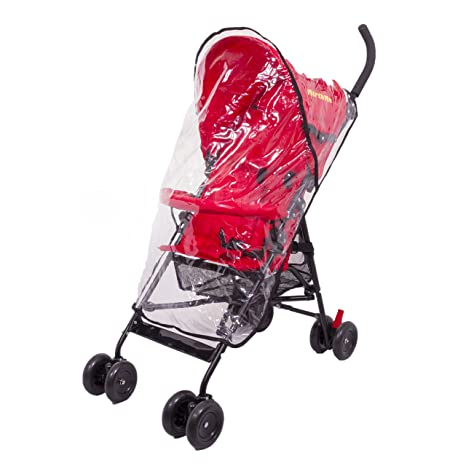mirthme bebé carrito/cochecito/cochecito de bebé (color rojo ...
