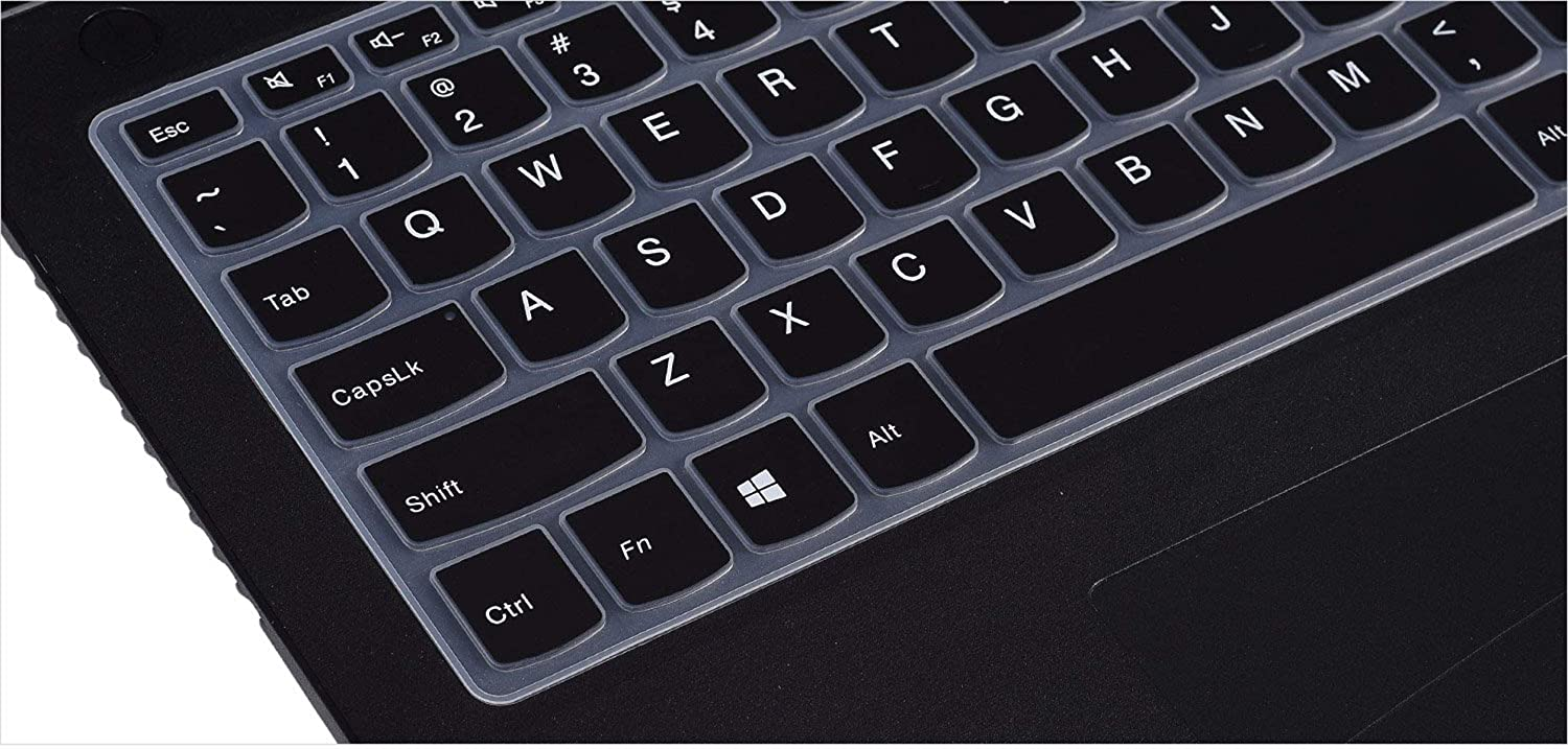 Saco Chiclet Keyboard Skin for Lenovo IdeaPad B470 Black with Clear