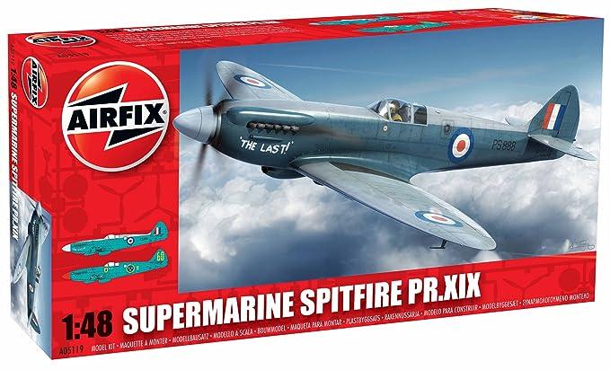 Airfix 148 Supermarine Spitfire Prxix Aircraft Model Kit Amazon