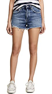 fd1885c1dc Agolde Women's Parker Vintage Denim Shorts, Swapmeet at Amazon ...