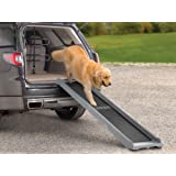WeatherTech PetRamp, Folding Dog Ramp for Large Dogs to 300 Pounds, Traction Grip Ramps Universal for Car, SUV, Truck