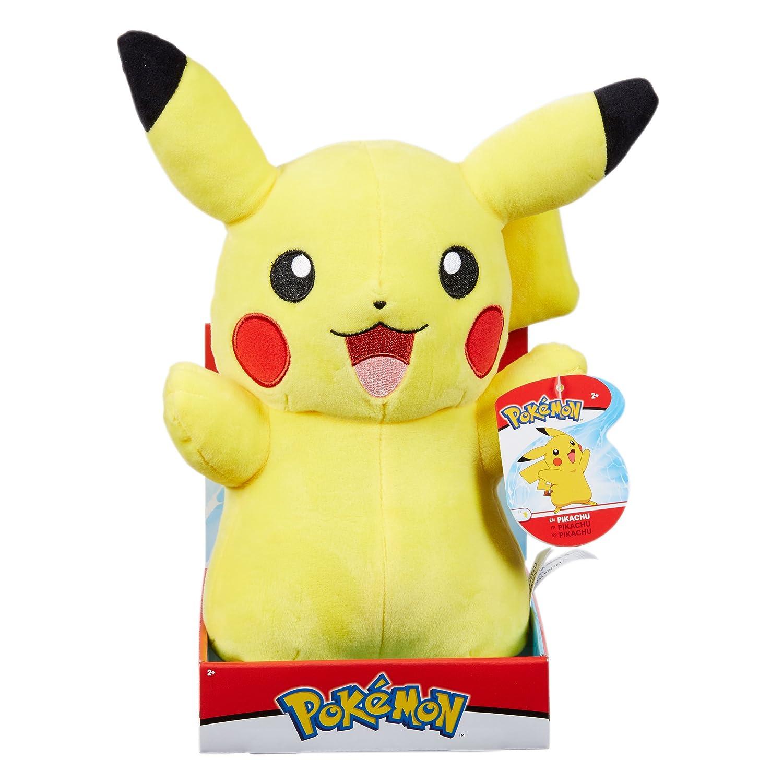 Pokemon 96368 Pikachu Plush, Multi-Colour, 12-Inch Wicked Cool