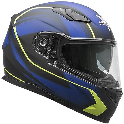 Vega Helmets 60030-023 RS1 Street Sunshield Motorcycle Helmet - DOT Certified Full Facerbike Helmet