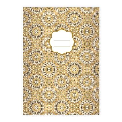 Kartenkaufrausch 1 Elegantes Boho Stil Din A4 Schulheft