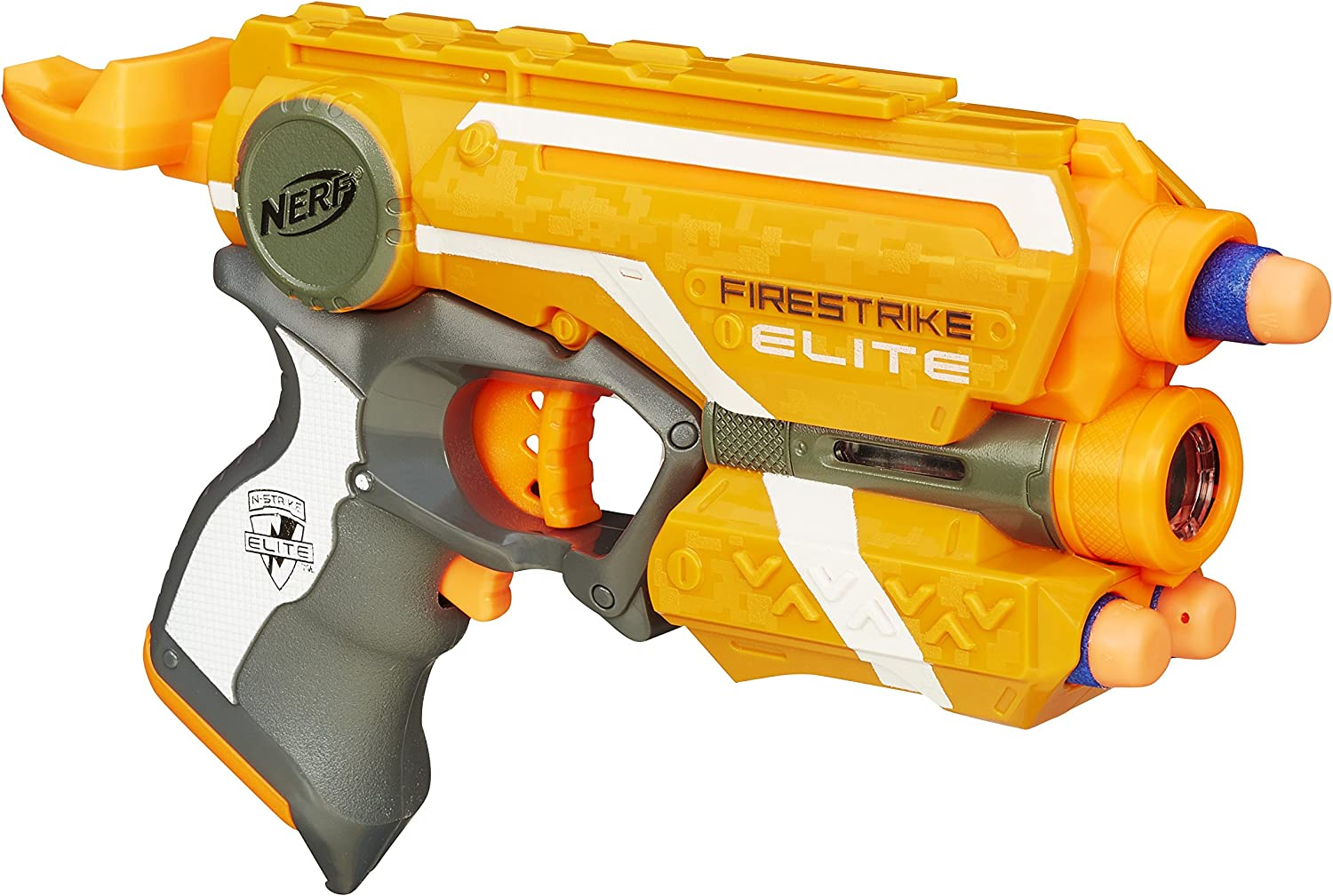 Nerf 53378E35 Arma Giocattolo Firestrike Elite, Colori Assoriti, Versione 2016