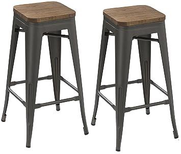 Awesome Amazon Com Btexpert 30 Inch Industrial Metal Vintage Creativecarmelina Interior Chair Design Creativecarmelinacom