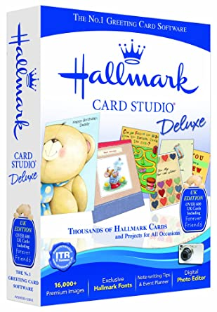 Hallmark card studio deluxe version 12 pc amazon software hallmark card studio deluxe version 12 pc m4hsunfo