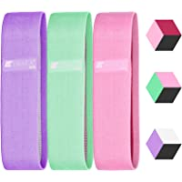 Loop Resistance Bands 3 Sets,EWAKA Workout Flexbands For Exercise, Fitness & Workout, Exceptional 3 Levels Stretch Bands For Legs, Yoga, Pilates, Stretching, Home Fitness,Strength Training & Physical Therapy