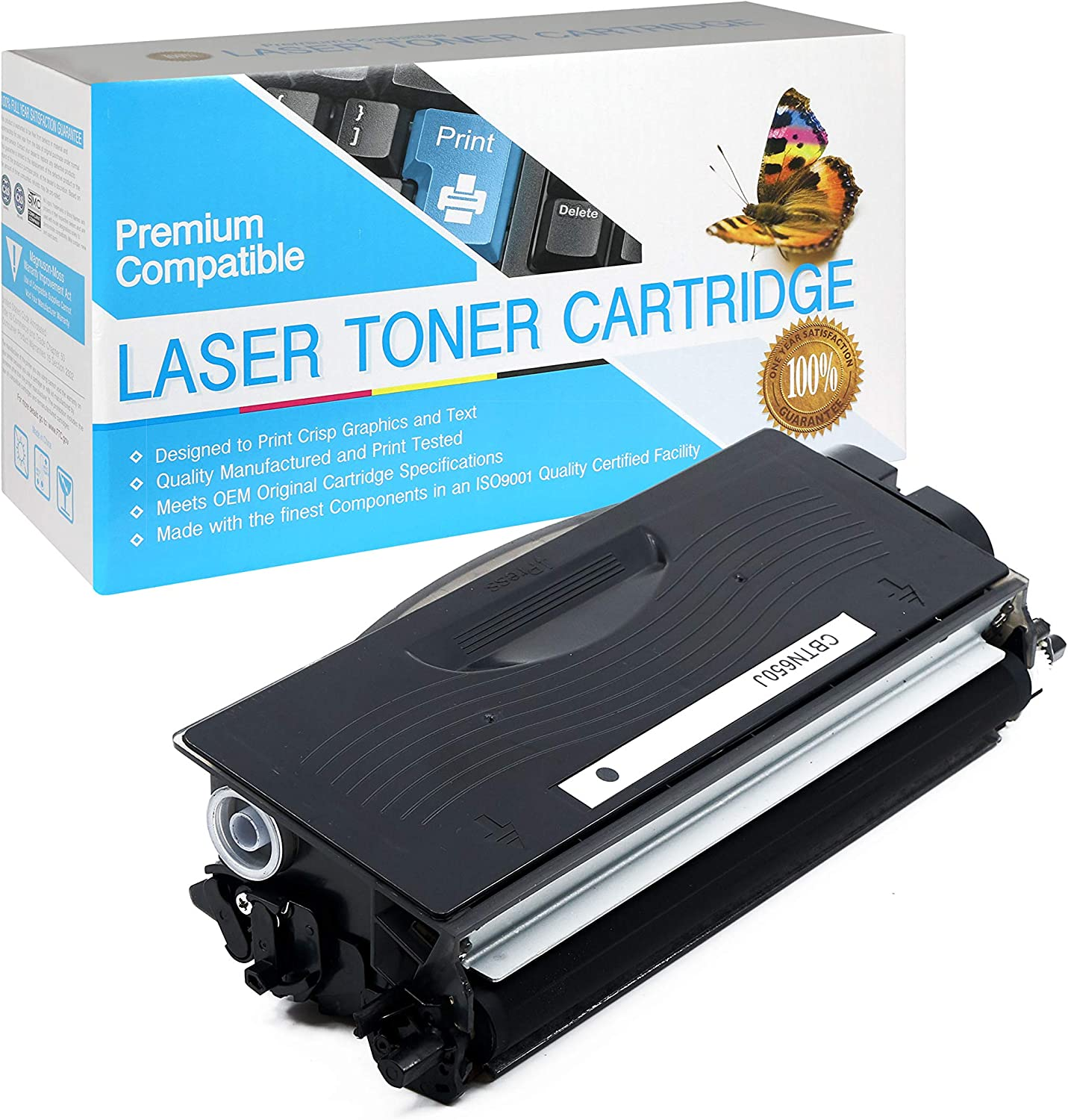 SuppliesOutlet Compatible Toner Cartridge Replacement for Brother TN650 Jumbo Black,1 Pack TN-650 TN620 TN-620