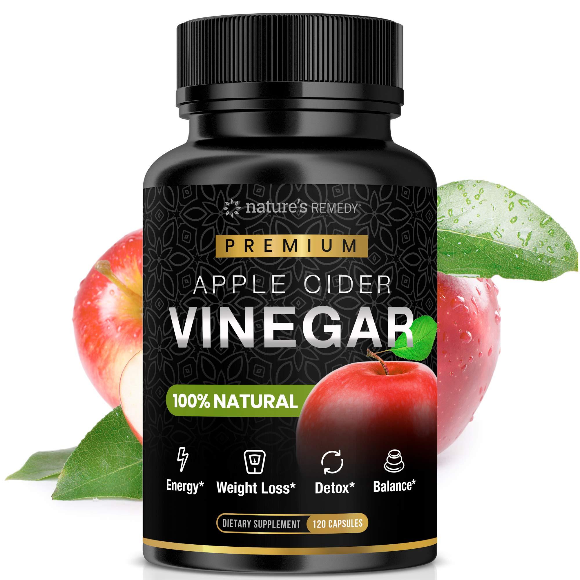 Amazon.com: Raw Apple Cider Vinegar Pills – 100% Natural