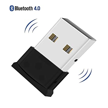 Adaptador Bluetooth,QueenDer Bluetooth 4.0 USB V4.0+ EDR Plug & Play Mini