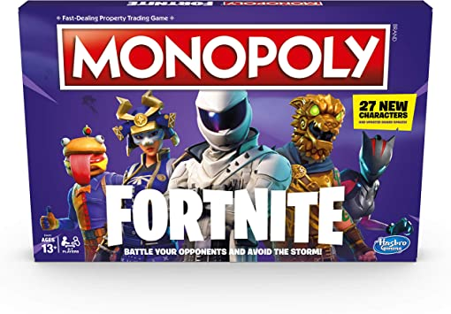 Amazon.com: Monopoly: Fortnite Edition Juego de mesa ...