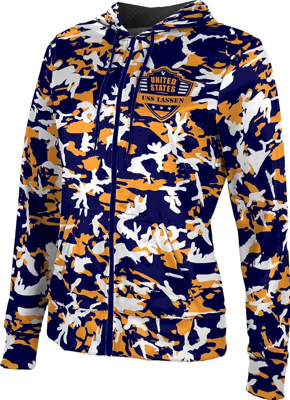 ProSphere Women's USS Lassen Military Camo Fullzip Hoodie