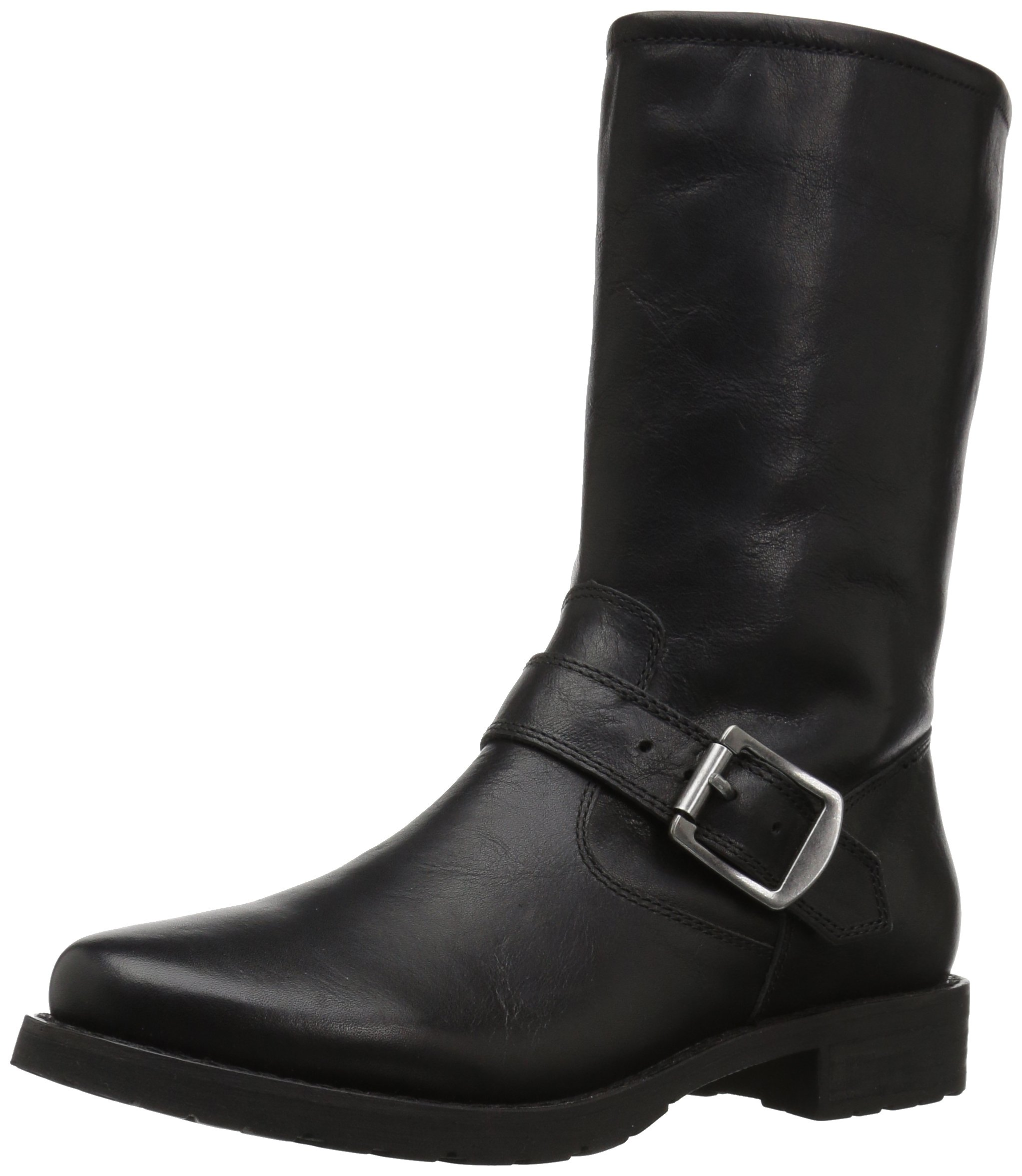 206 Collective Women's Brinnon Moto Boot, Black, 8.5 B US by 206 Collective