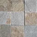 [敷石 鉄平石 ピンコロ 石材]とっても綺麗なイエロー鉄平石st13