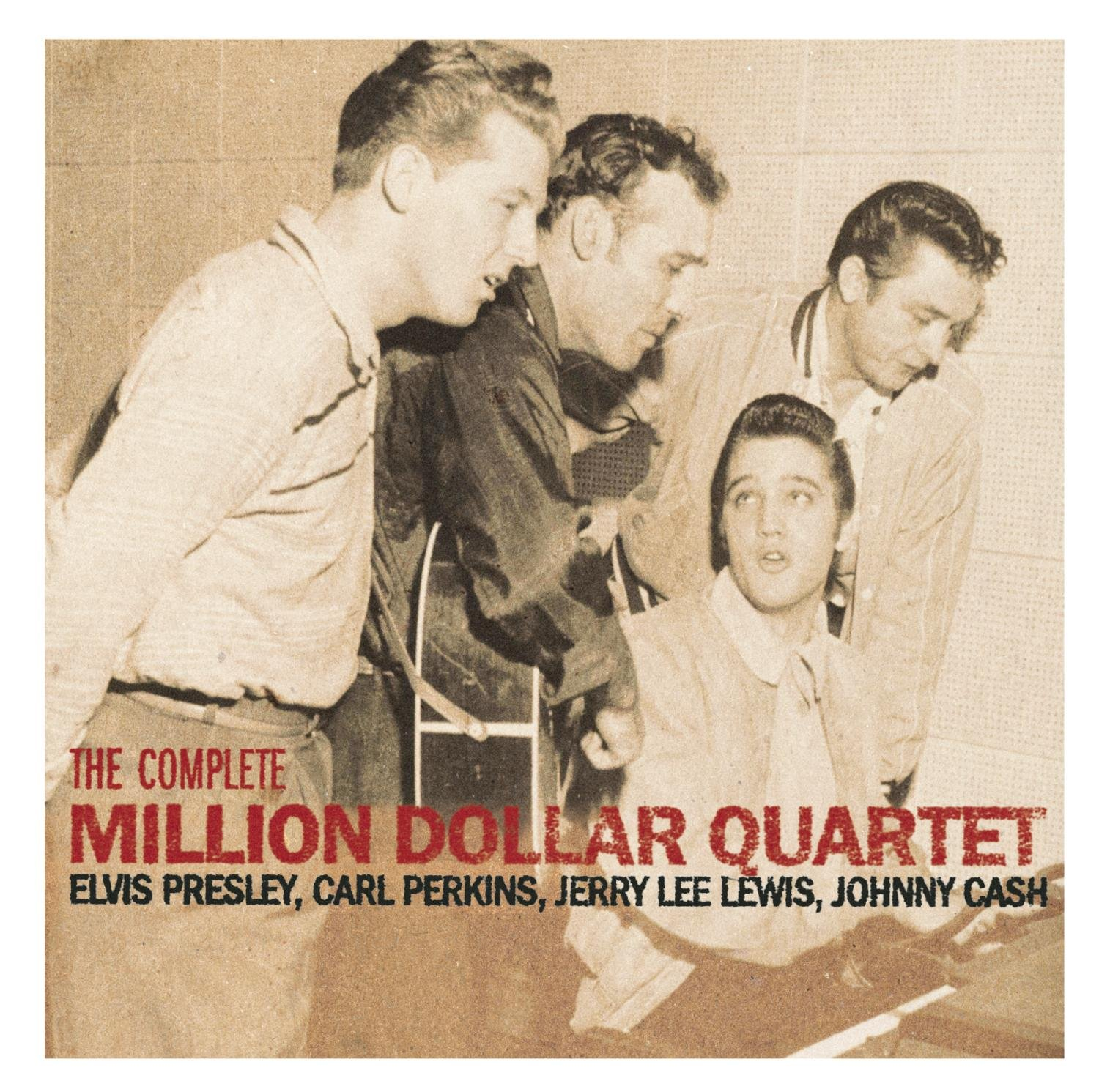CD : Elvis Presley - Complete Million Dollar Quartet (Anniversary Edition, Remastered)