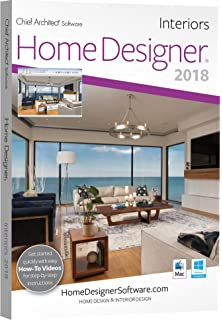 chief architect home designer interiors 2018 dvd - Architect Design Home