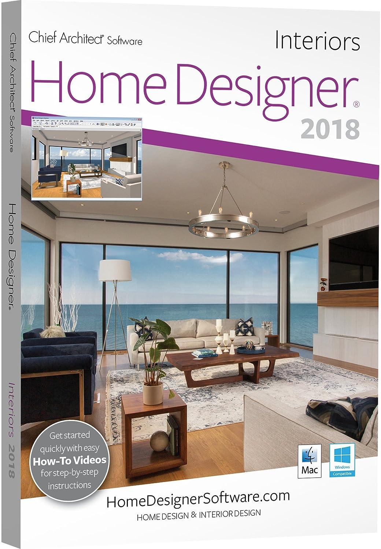 Amazoncom Chief Architect Home Designer Interiors 2018DVD
