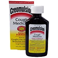 Creomulsion Adult Cough Medicine, 4 Ounce (Pack of 3)